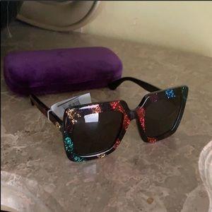 Gucci 53MM oversized sunglasses